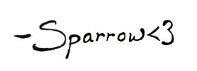 sparrow sig