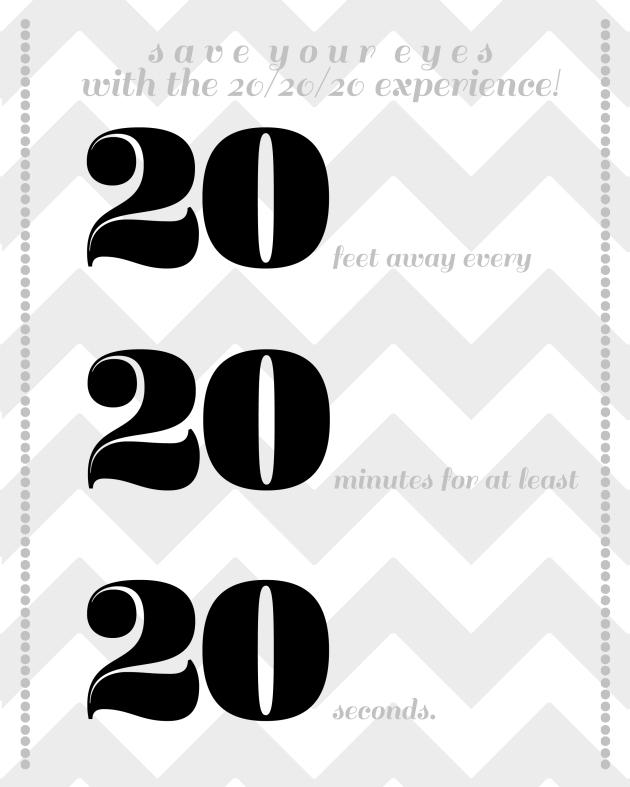 20 eye sign